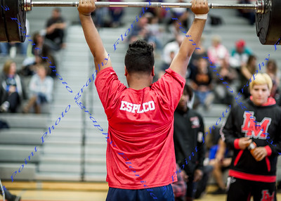2017 Boys Weightlifting Class 2A District 8 Meet - March 15, 2017