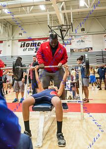 2017 Boys Weightlifting Class 2A District 8 Meet - March 15, 2017