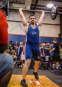 LBHS Boys Weightlifting vs Lyman - Feb 8, 2017