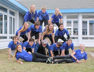 The Deer Isle-Stonington Varsity Tennis Team