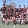 The George Stevens Academy boys varsitytennis team