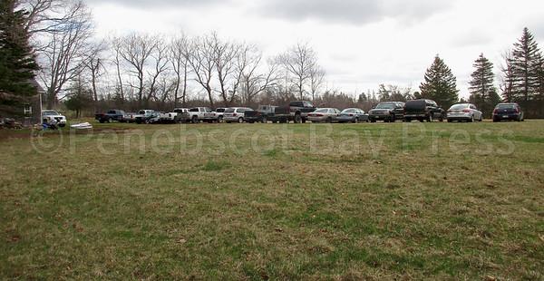 parking field near mile corner
