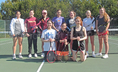 The George Stevens Academy Girls Tennis Team