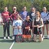 The George Stevens Academy Girls Tennis Team