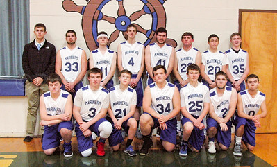 The Deer Isle-Stonington Boys Varsity Basketball Team