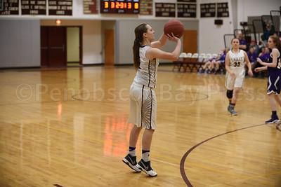 Vanessa Sherwood sets her shot. Photo by Franklin Brown