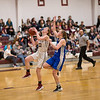 Mazie Smallidge goes for the fast break lay-up. Photos by Tate Yoder