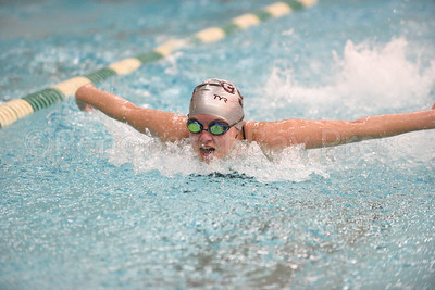 Emma Larson-Whittaker, Girls 200 Yard Medley Relay.  Photo by Franklin Brown