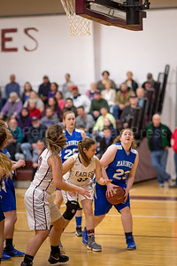 Sailor Eaton looks for her shot. Photo by Tate Yoder