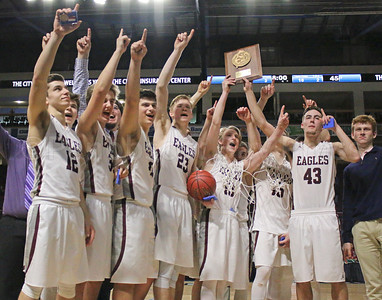 The GSA Eagles, North Class C winners. Photo by Anne Berleant