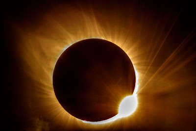 Diamond Ring  Total Eclipse