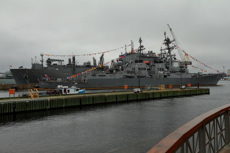 US Navy escort ships, Halifax.