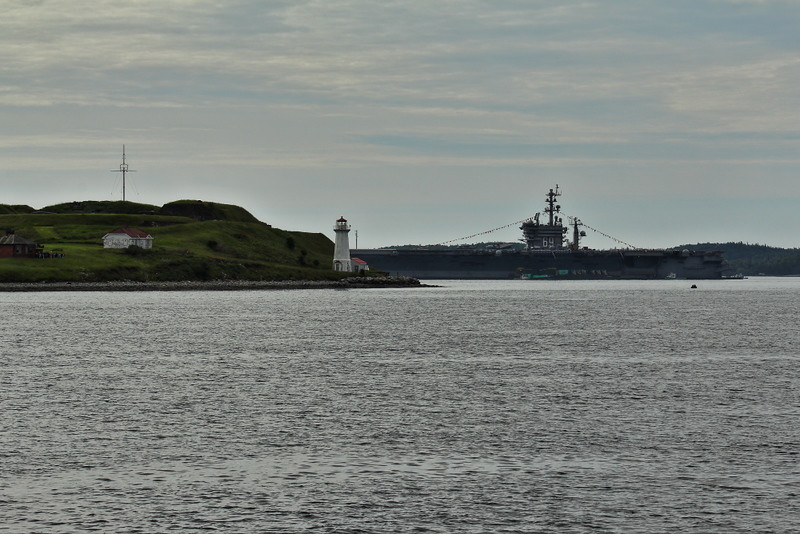 USS Eisenhower, Halifax harbour.