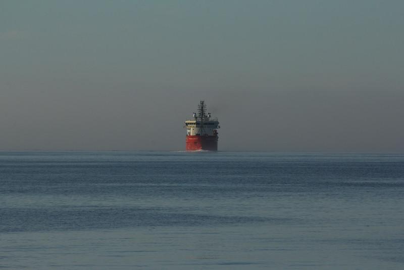 Entering Halifax harbour.