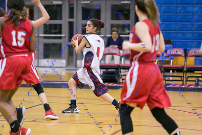 LBHS JV Girls Basketball vs. Lake Mary - Second Half Only - Jan 11, 2018