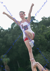 Cheerleader - Sierra Hope Stafford - Underclassman - LBHS Homecoming Court - September 7 , 2017