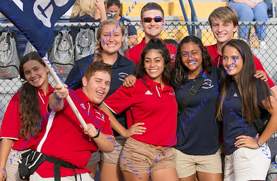 Athletic Trainers - LBHS Homecoming Court - September 7 , 2017