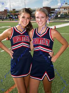 Freshman Cheerleaders - LBHS Varsity vs. Hagerty - August 25, 2017