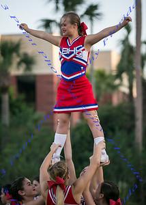 Cheerleading - Abigail Adams - Underclassman -  LBHS Varsity vs Seminole -  September 28, 2017