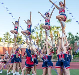 Cheerleading - LBHS Varsity vs Seminole -  September 28, 2017