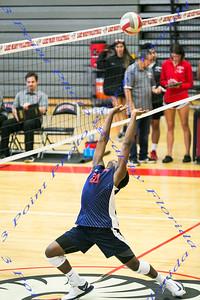 LBHS Boys Volleyball  vs LMHS - April 3, 2018