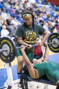 2018  Class 2A Girls Weightlifting Regional Meet- Jan 18, 2018