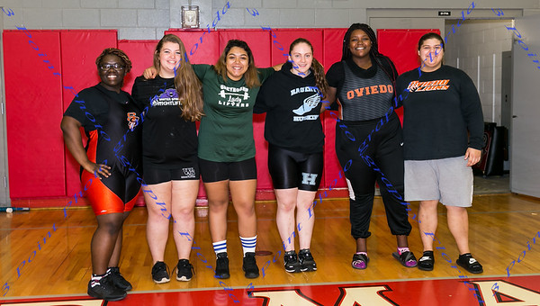 Girls Varsity District Weightlifting Meet - Jan 10, 2018