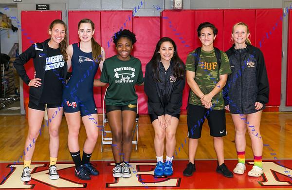 Girls Varsity District Weightlifting Meet - Jan 10, 2018