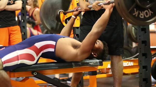 LBHS Boys Weightlifting vs Oviedo - March 7, 2018