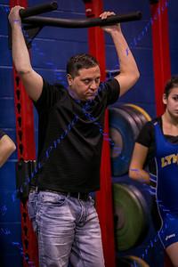LBHS Girls Weightlifting vs Lyman - Nov 1, 2017