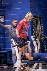 Girls Weightlifting vs. Lyman - Nov 2017