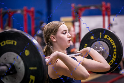LBHS Girls Weightlifting vs. Oviedo - Dec 13, 2017