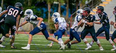 LBHS FR Football vs Lake Howell - Aug 30, 2018 HOME