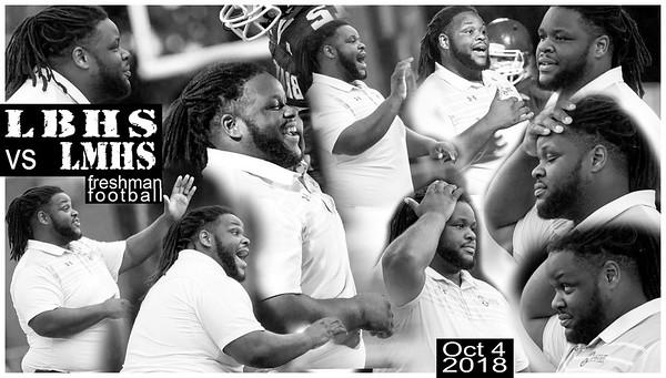 LBHS Fr FB vs LMHS - Oct 4, 2018