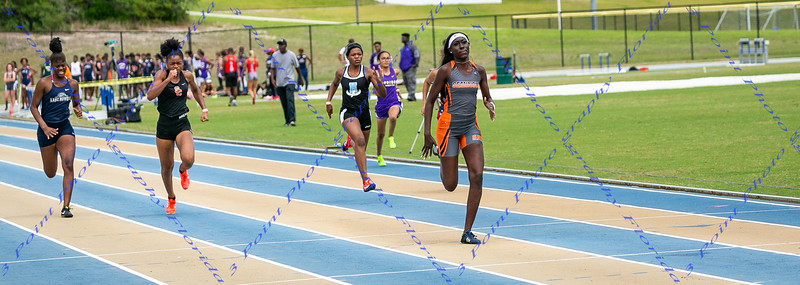 District 4A Track Meet @ Embry Riddle - Apr 10, 2019