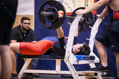 LBHS Boys Weightlifting vs Winter Spngs - Feb 13, 2019