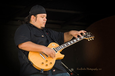 Luis Avila - Lead Guitar Badlands Boogie 2018 Music Festival