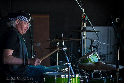 Curt Rock - drummer for The Beautiful Scars Badlands Boogie 2018 Music Festival