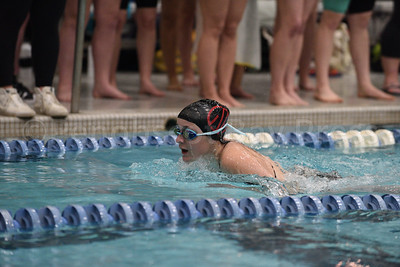 Ellie Gellerson, Girls 200 Yard Medley Relay.  Photo by Franklin Brown