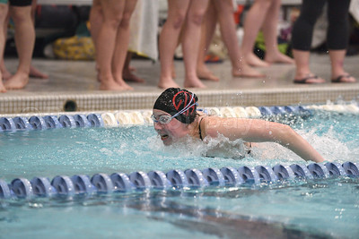 Ava Sealander, Girls 200 Yard Medley Relay.  Photo by Franklin Brown