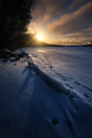 Rondout Reservoir Sunrise