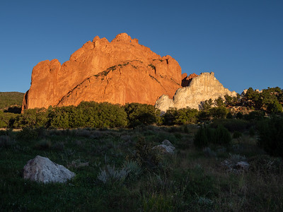 Sunrise, Garden of the Gods, Colorado Springs