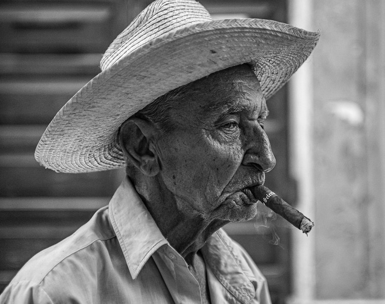 Section B - Print - 2nd - Havana Man by Oran Balazs