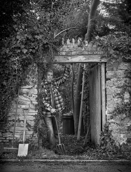 Section A - Print - HC - The Gardener by Graham Herbert