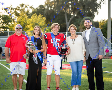 LBHS Homecoming Court 2019