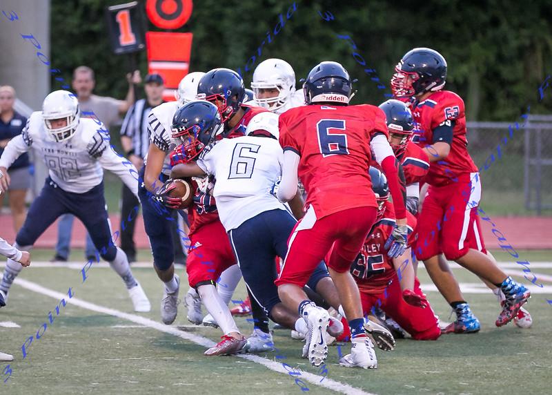 LBHS JV football vs Lake Howell - Aug 30, 2018 HOME