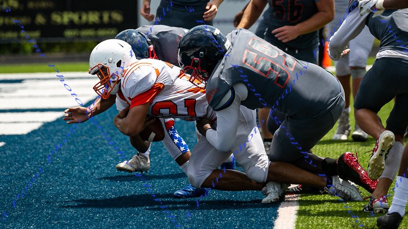 LBHS V Football vs Boone @ Lake Howell - Aug 10, 2019