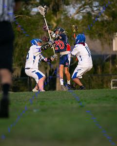 LBHS JV Lacrosse vs Lyman - Feb 19, 2020
