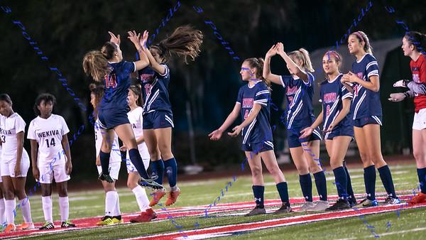LBHS V Girls Soccer vs Apopka - Jan 17, 2020