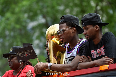 TORONTO, CANADA - Jun 17: during the Toronto Raptors NBA Championship Parade at Downtown Toronto. Photo: Michael Fayehun/F10 Sports Photography